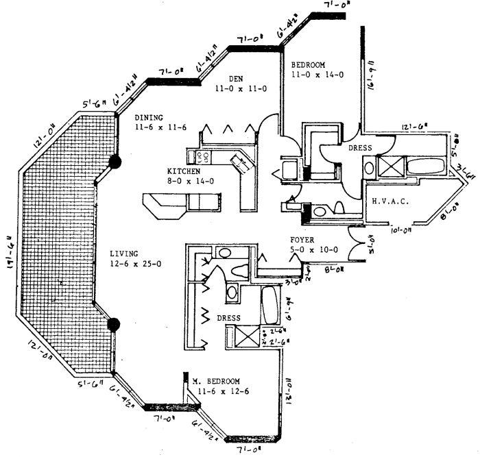 Sandcastle Marco Island Floor Plans