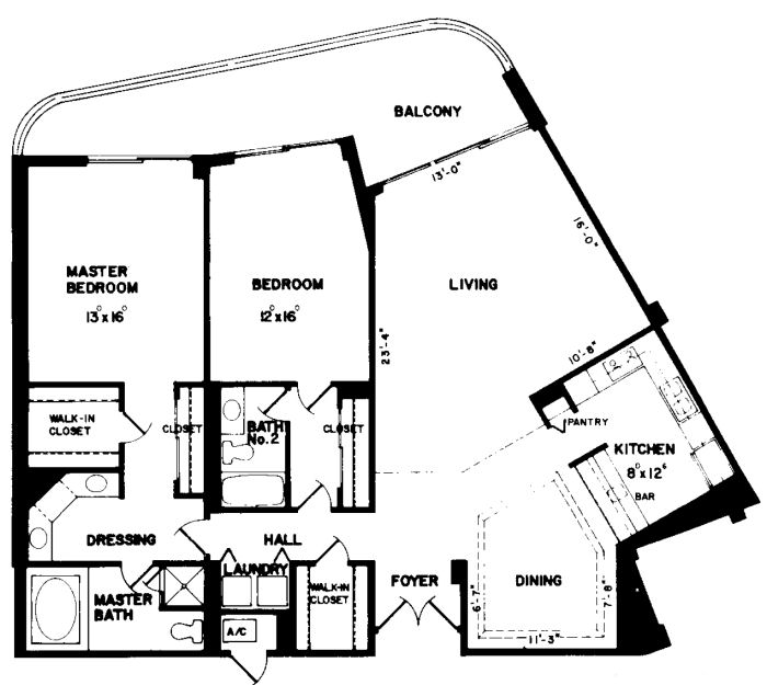 Summit house marco island florida for Summit homes floor plans